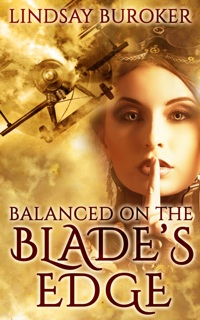 Balanced on the Blade's Edge, a Steampunk Romance Adventure