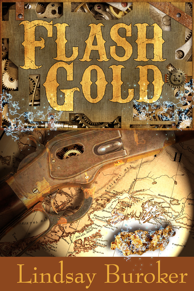 Affordable ebook cover art: Flash Gold