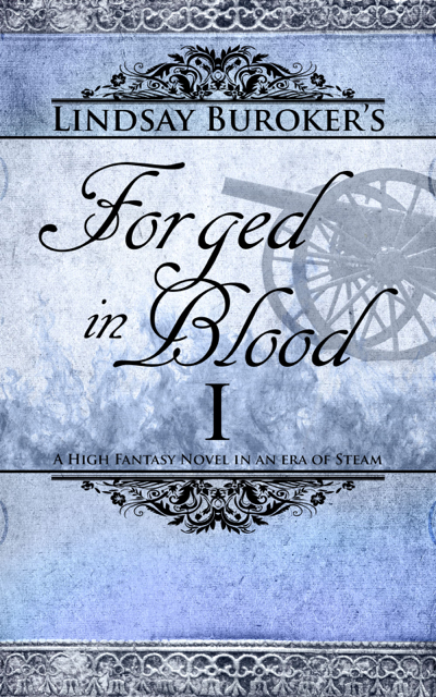 Forged in Blood I (Emperor's Edge, Book 6) Cover