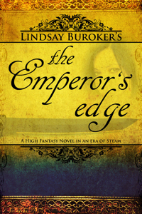 Emperor's Edge Fantasy Book Cover