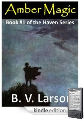 indie fantasy author BV Larson's first ebook