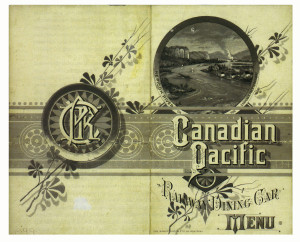 canadian pacific menu