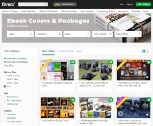 fiverr ebook page