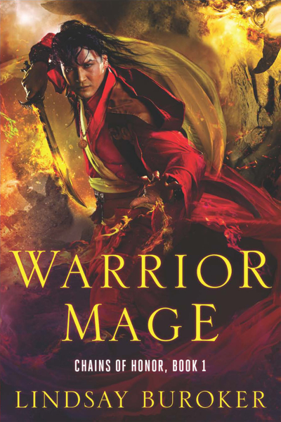 Warrior Mage Epic Fantasy Cover